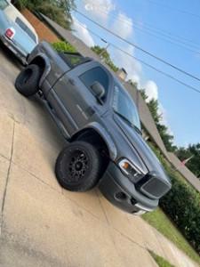 "2004 Dodge Ram 1500 - 20x12 -51mm - Vision Rocker - Suspension Lift 6"" - 33"" x 12.5"""