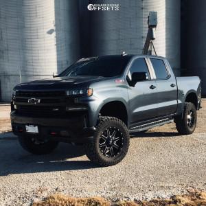 """2020 Chevrolet Silverado 1500 - 20x9 1mm - Fuel Maverick D610 - Suspension Lift 4"""" - 35"""" x 12.5"""""""