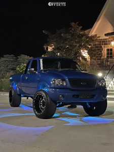 """2001 Ford Ranger - 20x12 -44mm - TIS 548bm - Leveling Kit - 31"""" x 11.5"""""""