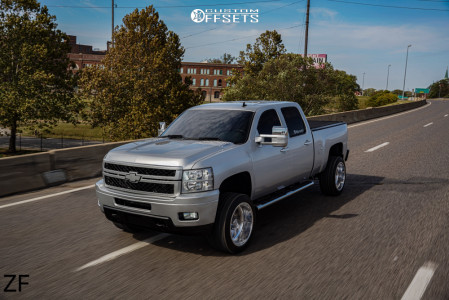 "2013 Chevrolet Silverado 2500 HD - 22x12 0mm - American Force Aka Ss - Leveling Kit - 33"" x 12.5"""