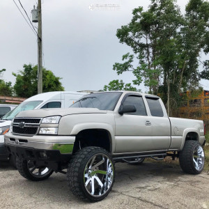 "2005 Chevrolet Silverado 1500 - 26x14 -81mm - ARKON OFF-ROAD Lincoln - Suspension Lift 7"" - 37"" x 13.5"""