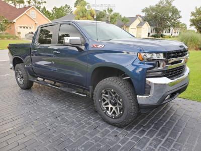 """2019 Chevrolet Silverado 1500 - 20x9 -127mm - Vision Se7en - Suspension Lift 3"""" - 35"""" x 11.5"""""""