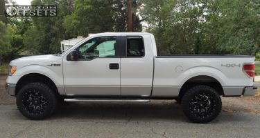 """2010 Ford F-150 - 20x10 -24mm - Fuel Lethal - Suspension Lift 3"""" - 305/55R20"""