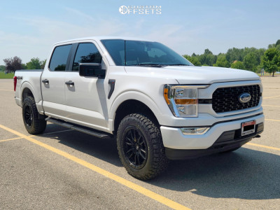 2021 Ford F-150 - 20x9 20mm - Fuel Rebel - Leveling Kit - 275/65R20