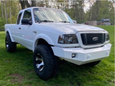 "2004 Ford Ranger - 15x10 -47mm - Dick Cepek Dc-2 - Suspension Lift 3"" - 33"" x 12.5"""