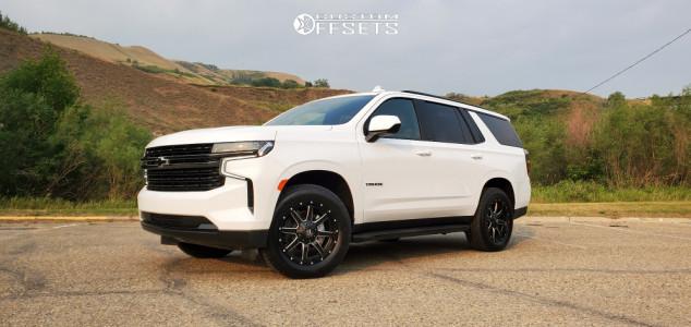 2021 Chevrolet Tahoe - 20x10 -24mm - Fuel Maverick D538 - Stock Suspension - 275/60R20