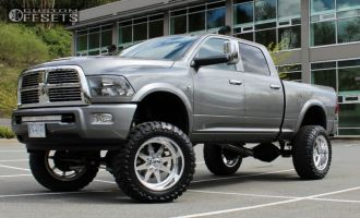 """2012 Ram 3500 - 22x12 -40mm - American Force Independence SS - Suspension Lift 8"""" - 37"""" x 13.5"""""""