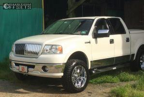 """2006 Lincoln Mark LT - 20x9 -12mm - XD Hoss - Leveling Kit - 33"""" x 11.5"""""""