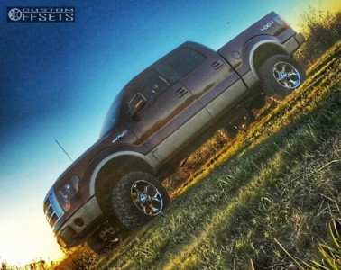 """2010 Ford F-150 - 20x9 1mm - Fuel Dune - Suspension Lift 6"""" - 35"""" x 12.5"""""""