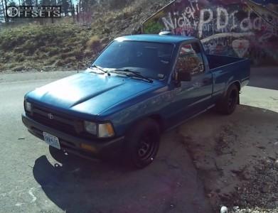 1994 Toyota Pickup - 15x8 -19mm - Vision D Window - Lowered 2F / 4R - 195/60R15