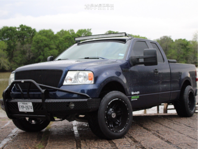 2007 Ford F-150 - 20x12 -44mm - Anthem Off-Road Aviator - Stock Suspension - 305/55R20