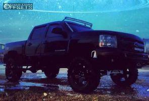 "2012 Chevrolet Silverado 1500 - 20x10 -12mm - XD Rockstar - Suspension Lift 8"" - 35"" x 12.5"""