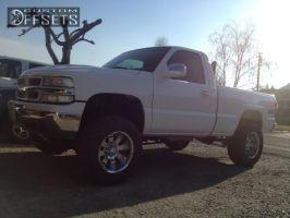 "2000 Chevrolet Silverado 1500 - 18x10 -25mm - Mazzi Hulk - Suspension Lift 6"" - 33"" x 12.5"""