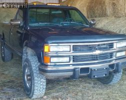 "1994 Chevrolet K2500 - 16x8 -5mm - American Eagle 186 - Stock Suspension - 31"" x 8.5"""