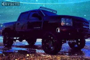 "2012 Chevrolet Silverado 1500 - 20x9 -12mm - XD Rockstar - Suspension Lift 8"" - 35"" x 12.5"""