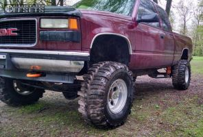 """1998 GMC K1500 - 16x10 -38mm - Alloy Ion Style 171 - Suspension Lift 6"""" - 35"""" x 14.5"""""""