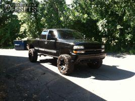 "1999 Chevrolet Silverado 1500 - 20x10 -12mm - XD Monster - Suspension Lift 7.5"" - 35"" x 12.5"""