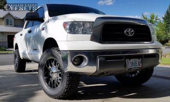 "2008 Toyota Tundra - 20x9 18mm - Dropstars 645V - Leveling Kit - 35"" x 12.5"""