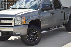 """2007 Chevrolet Silverado 1500 - 18x9 -12mm - Fuel Lethal - Suspension Lift 3.5"""" - 275/70R18"""