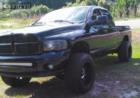 "2005 Dodge Ram 1500 - 20x12 -44mm - XD Riot - Suspension Lift 7.5"" - 35"" x 12.5"""