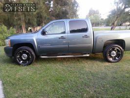 2008 Chevrolet Silverado 1500 - 20x10 6mm - XD Spy - Stock Suspension - 275/55R20