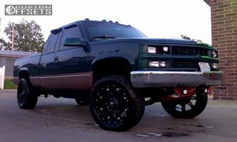"1998 Chevrolet K1500 - 20x9 -12mm - Fuel Hostage - Body Lift 3"" - 305/50R20"