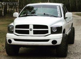 "2008 Dodge Ram 1500 - 20x12 -44mm - Fuel Hostage - Leveling Kit - 35"" x 12.5"""