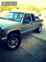 1998 Chevrolet Silverado 1500 - 20x9 2mm - Gear Off-Road 715C - Stock Suspension - 305/55R20