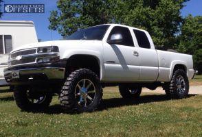"2000 Chevrolet Silverado 1500 - 20x8.5 10mm - KMC Slide - Suspension Lift 8"" - 37"" x 13.5"""