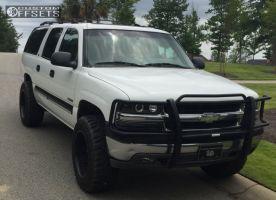 "2000 Chevrolet Suburban - 20x12 -44mm - Fuel Octane - Body Lift 3"" - 35"" x 12.5"""