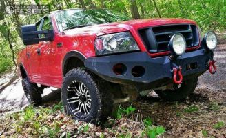 """2007 Ford F-150 - 18x9 -12mm - American Eagle 197 - Leveling Kit - 32"""" x 10.5"""""""