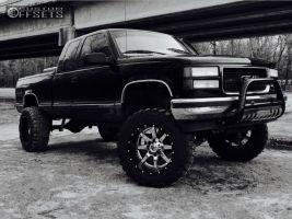 """1997 GMC K1500 - 20x12 -44mm - Fuel Maverick - Suspension Lift 6"""" - 35"""" x 12.5"""""""