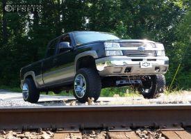 "2003 Chevrolet Silverado 1500 - 20x14 -76mm - Hostile Switch Blade - Suspension Lift 6"" - 33"" x 12.5"""