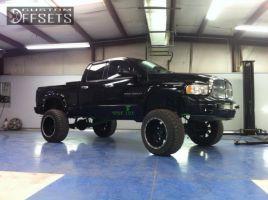 "2003 Dodge Ram 2500 - 22x14 -76mm - XD Diesel - Suspension Lift 9"" - 37"" x 13.5"""