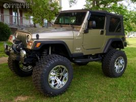 """2003 Jeep Wrangler - 20x14 -76mm - Fuel Hostage - Lifted >9"""" - 38"""" x 15.5"""""""