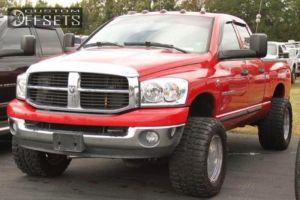 "2006 Dodge Ram 2500 - 18x12 -51mm - Pacer 185p Baja Champ - Leveling Kit - 33"" x 15.5"""