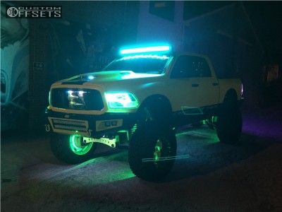 """2013 Ram 1500 - 24x16 -99mm - Fuel Cleaver - Lifted >12"""" - 40"""" x 15.5"""""""