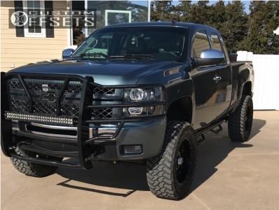 "2009 Chevrolet Silverado 1500 - 20x9 -12mm - Xd Xd795 - Suspension Lift 6.5"" - 35"" x 12.5"""