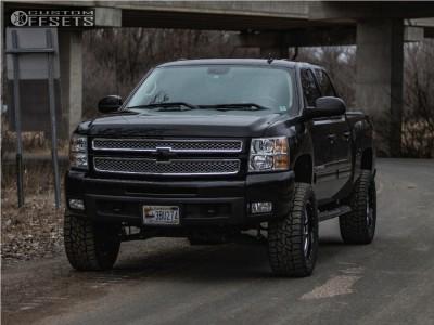 "2009 Chevrolet Silverado 1500 - 20x9 18mm - XD Xd828 - Suspension Lift 5"" - 305/55R20"