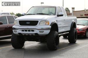 "2002 Ford F-150 - 20x14 -76mm - Fuel Maverick - Suspension Lift 8"" - 37"" x 13.5"""