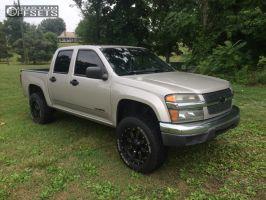"""2004 Chevrolet Colorado - 18x9 0mm - Gear Off-Road Dominator - Suspension Lift 4.5"""" - 265/65R18"""