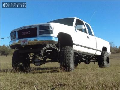 "1997 GMC C1500 - 15x14 -76mm - Bart Super Trucker - Suspension Lift 6"" - 39"" x 14.5"""