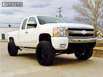 "2008 Chevrolet Silverado 1500 - 20x14 -76mm - XD Buck - Suspension Lift 6.5"" - 325/60R20"