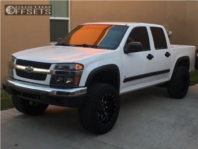"2007 Chevrolet Colorado - 18x10 -24mm - Moto Metal Mo970 - Suspension Lift 5.5"" - 285/65R18"