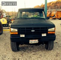 """1990 Ford Ranger - 15x9 5mm - Ford Ford - Suspension Lift 4"""" - 31"""" x 10.5"""""""