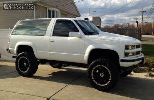 """1994 Chevrolet Blazer - 20x9 -12mm - XD Diesel - Suspension Lift 6"""" - 37"""" x 13.5"""""""