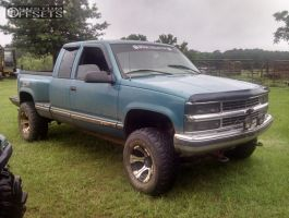 "1998 Chevrolet K1500 - 16x10 -25mm - Dick Cepek Dc-2 - Body Lift 3"" - 33"" x 12.5"""