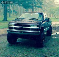 "1998 Chevrolet K1500 - 16x10 -25mm - Dick Cepek Dc-2 - Suspension Lift 6"" - 375/65R16"