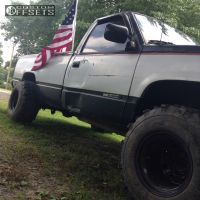 "1993 GMC K1500 - 15x14 -44mm - Bart Super Trucker - Stock Suspension - 33"" x 13.5"""