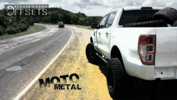 "2013 Ford F-150 - 20x12 -44mm - Moto Metal MO962 - Suspension Lift 4"" - 35"" x 12.5"""